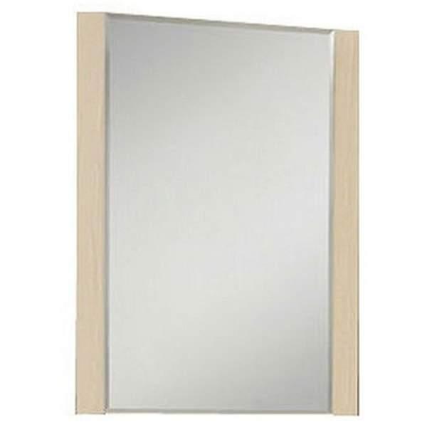 Зеркало Альпина 65см дуб молочный Акватон