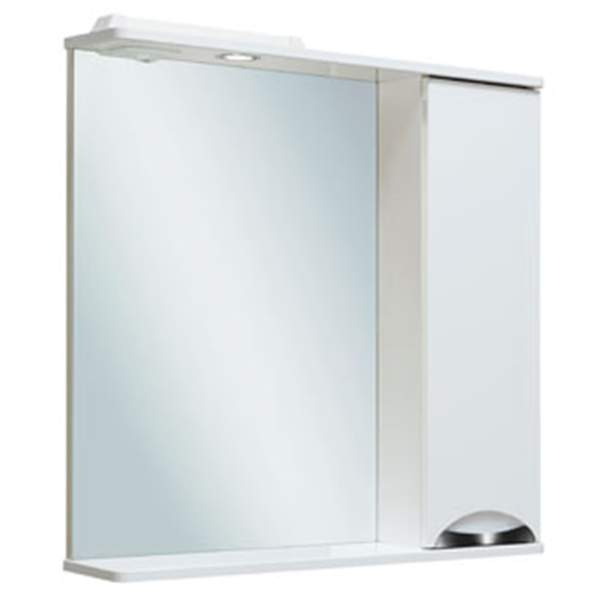 Зеркальный шкаф Барселона 75см правый Runo