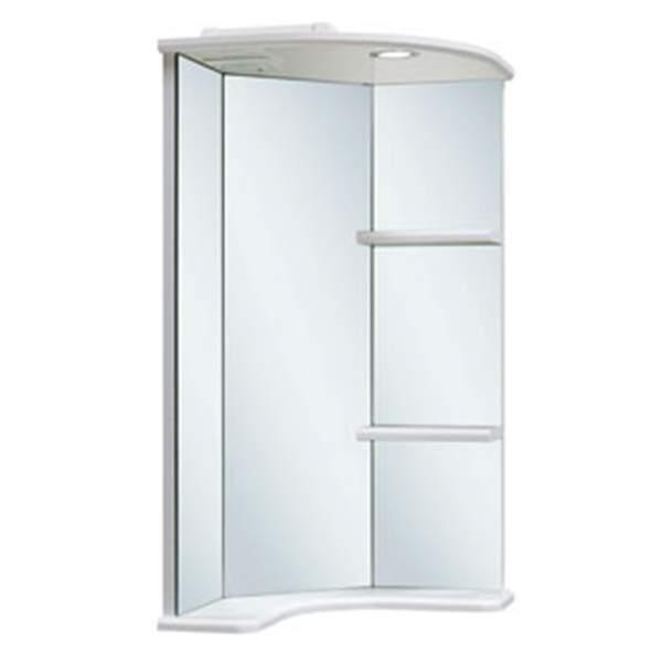 Зеркальный шкаф Браво 40см угловой Runo