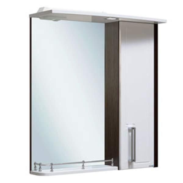 Зеркальный шкаф Гранада 60см белый Runo