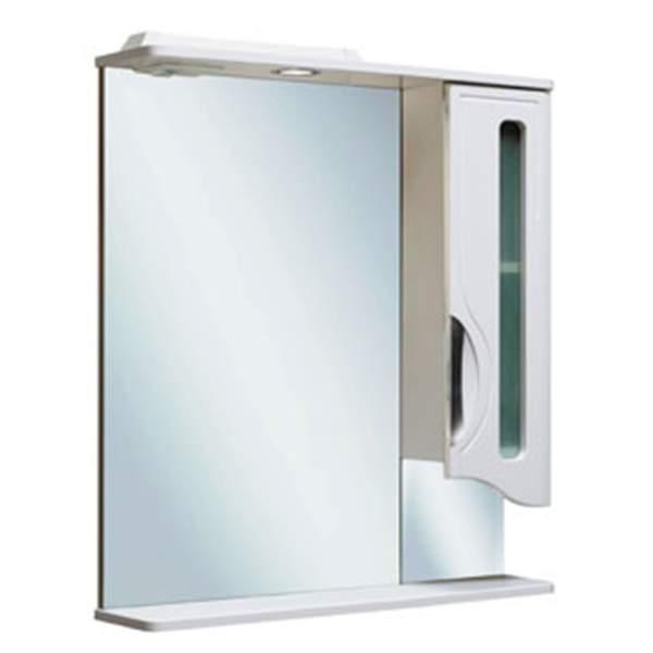 Зеркальный шкаф Толедо 65см правый Runo