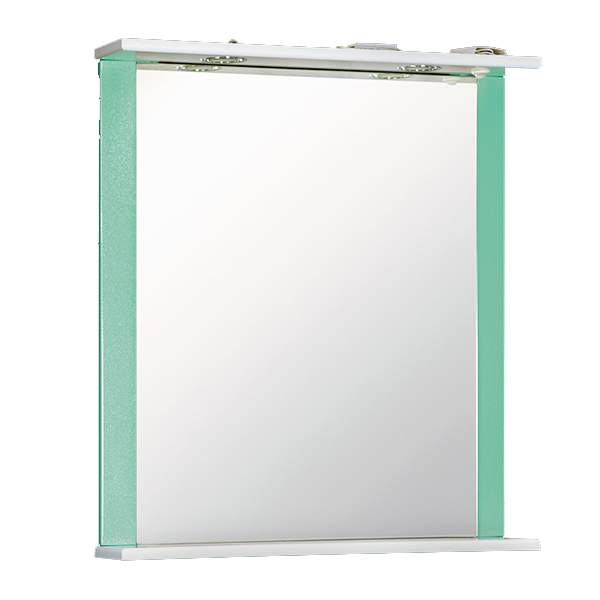 Зеркальный шкаф Дуэт 60см бирюза Norta