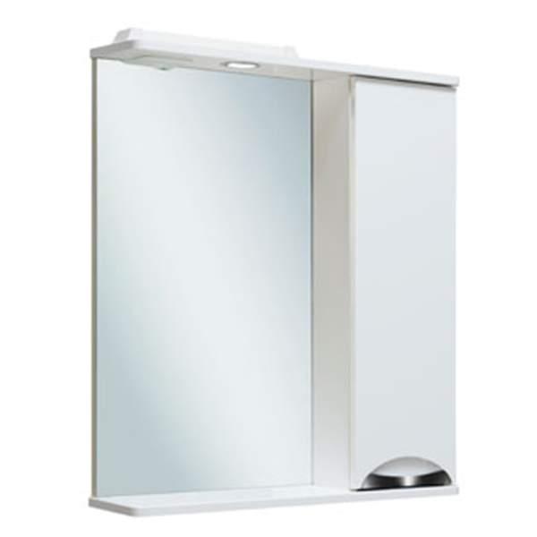 Зеркальный шкаф Барселона 65см правый Runo