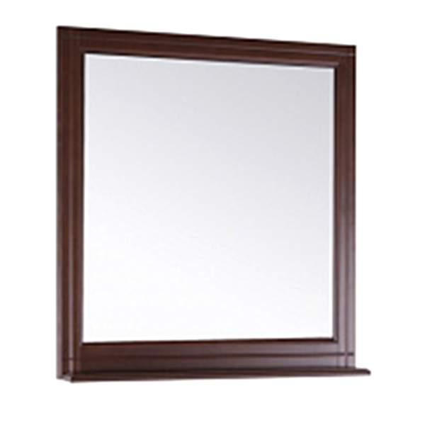 Зеркало Берта 85см с полкой антикварный орех ASB-Mebel