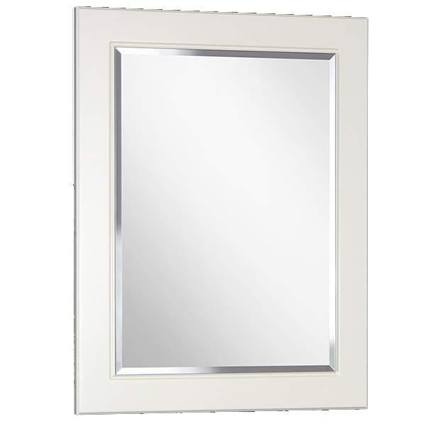 Зеркало Толедо 70см белый