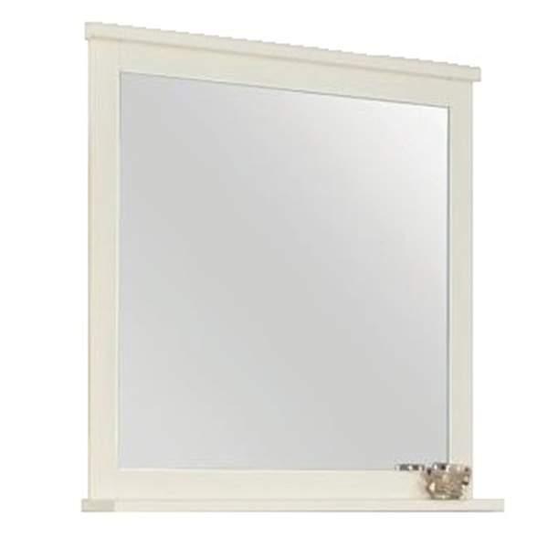 Зеркало Леон 80см дуб белый Акватон