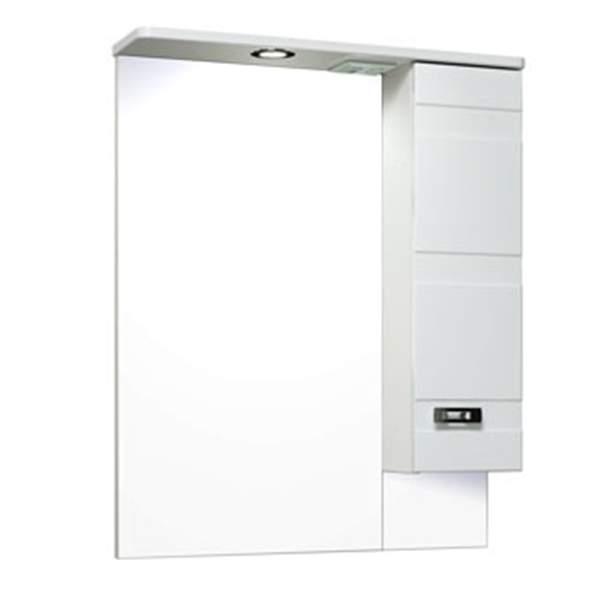 Зеркальный шкаф Турин 65см правый Runo