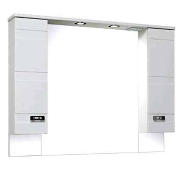 Зеркальный шкаф Турин 105см Runo