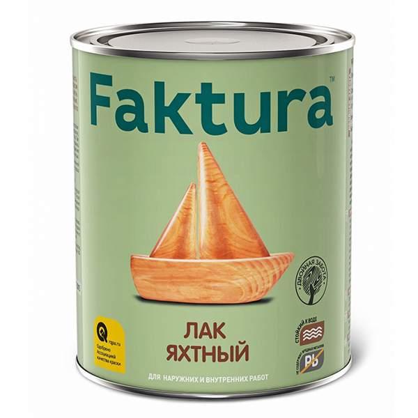 Лак яхтный FAKTURA, бесцветный (полуматовый) 0,7л