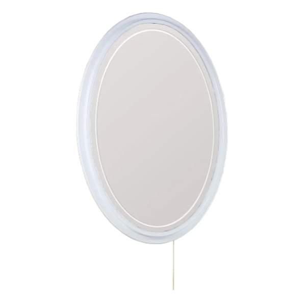 Зеркало Адель 70см овальное с 2-мя стеклянными полками Onika