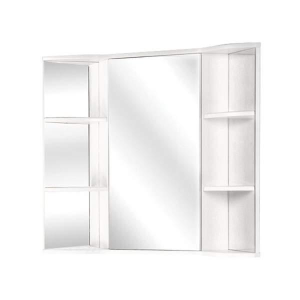 Зеркальный шкаф Арно 60см угловой белый Onika