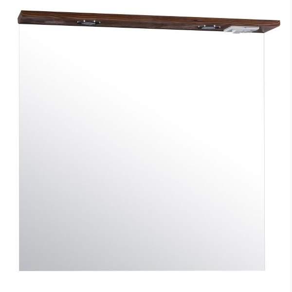 Зеркало Коста 80см светлый орех ASB-Mebel